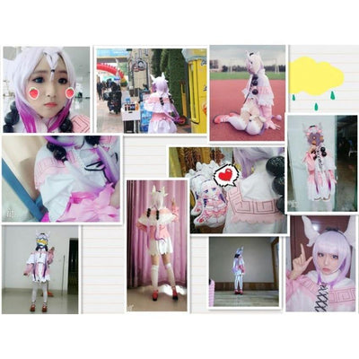 Kamui Kanna Cosplay Miss Kobayashi's Dragon Maid Costume Set #JU2438-Juku Store