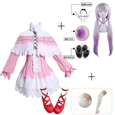 Kamui Kanna Cosplay Miss Kobayashi's Dragon Maid Costume Set #JU2438-S-Juku Store