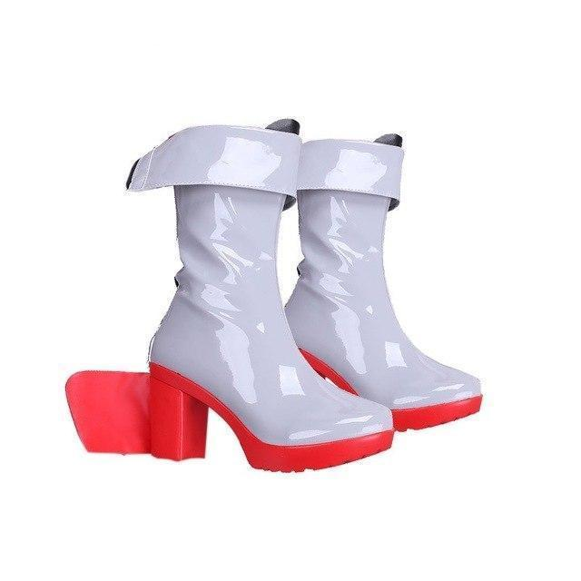 Telacos Kantai Collection Shimakaze Cosplay Shoes Boots Custom Made Low Heel