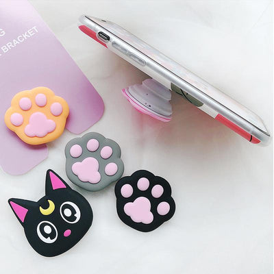 Kawaii Anime Phone Stand for iPhone / Android Phone Grip [4 Styles] #JU2143-Juku Store