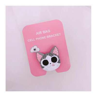 Kawaii Anime Phone Stand for iPhone / Android Phone Grip [4 Styles] #JU2143-Cat-Juku Store