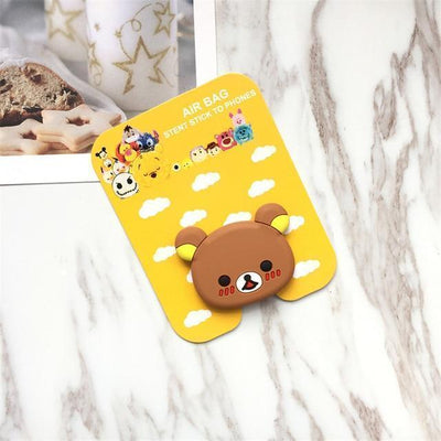 Kawaii Anime Phone Stand for iPhone / Android Phone Grip [4 Styles] #JU2143-Rilakkuma-Juku Store