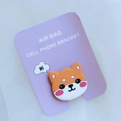 Kawaii Anime Phone Stand for iPhone / Android Phone Grip [4 Styles] #JU2143-Shiba Inu-Juku Store