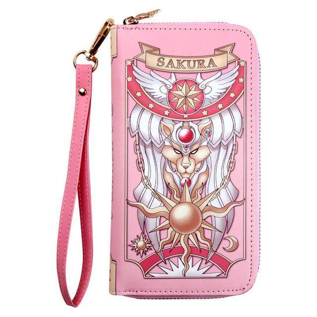 Kawaii Cardcaptor Sakura Magic Book Purse Wallet [2 Colors] #JU2308-Juku Store