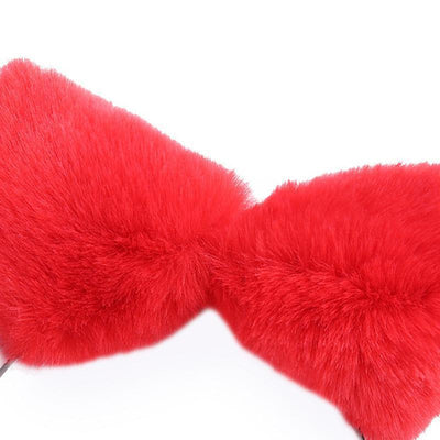 Kawaii Cat Ears Headband / Fox Ears Hair Accessory [8 Colors] #JU2163-Juku Store