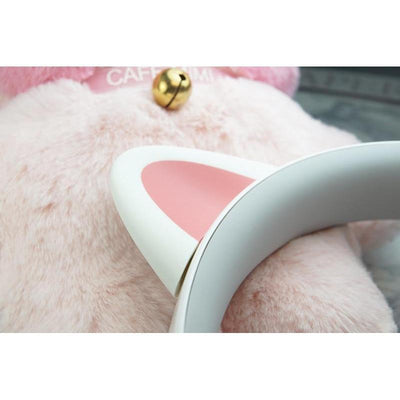 Kawaii Censi Cat Ears Stereo Gaming Headphones #JU2355-Juku Store