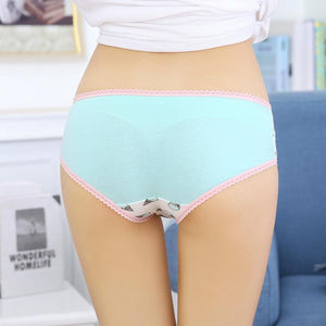 Kawaii Ice Cream Print Underwear Panties [6 Colors] #JU2335-Juku Store