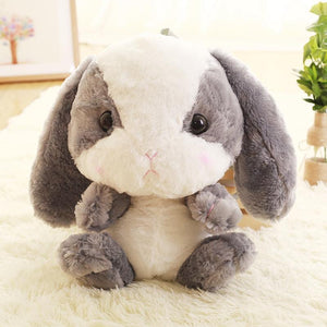 Kawaii Plush Bunny Backpack [4 Colors] #JU1986-Grey-Juku Store