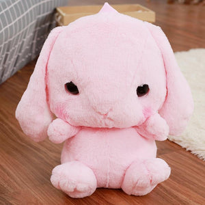 Kawaii Plush Bunny Backpack [4 Colors] #JU1986-Pink-Juku Store