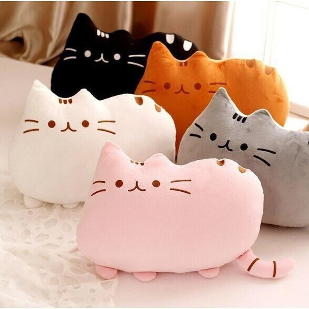 Kawaii Pusheen Cat Cushion Pillow Plush [5 Colors] #JU1810-Juku Store