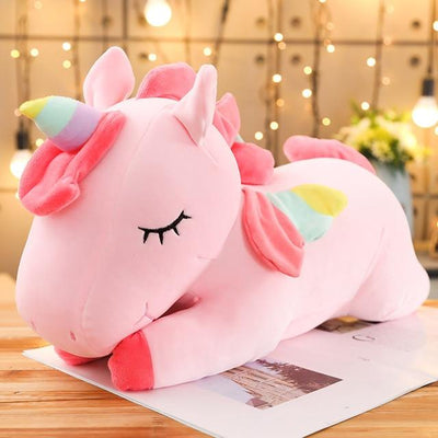 Kawaii Unicorn Plush Toy Soft Stuffed Pillow #JU2817-Pink-30cm-Juku Store