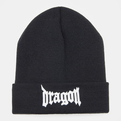 Kpop Hip Hop Dragon Beanie Hat [4 Colors] #JU1841-Juku Store