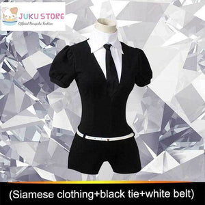 Land Of The Lustrous Houseki no Kuni Cosplay Playsuit Costume [2 Styles] #JU2114-Shirt Variant-S-Juku Store