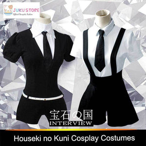 Land Of The Lustrous Houseki no Kuni Cosplay Playsuit Costume [2 Styles] #JU2114-Juku Store
