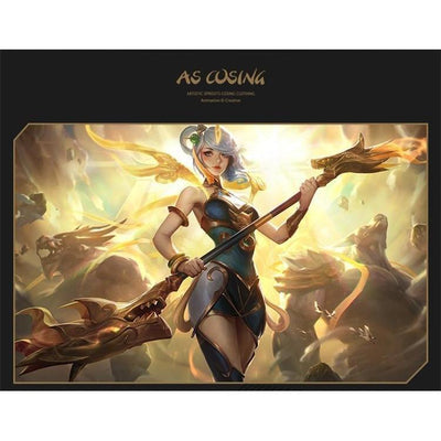 League of Legends Lunar Empress Lux Cosplay Costume Set #JU2235-Juku Store
