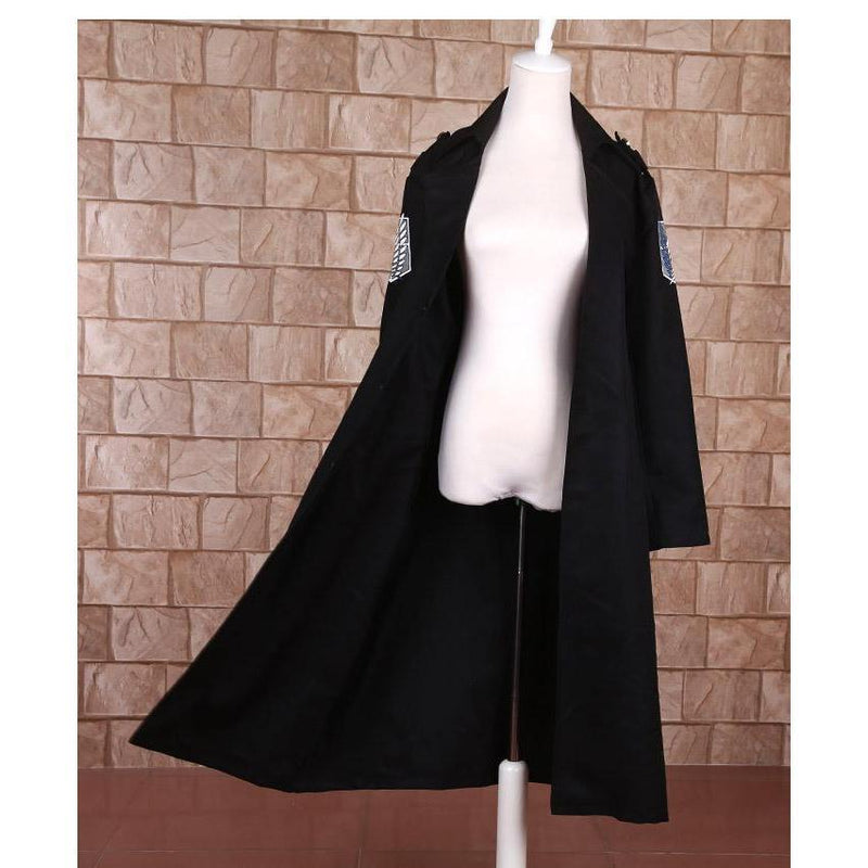 Levi Rivaille Cosplay Cloak Attack on Titan Costume #JU2523-S-Juku Store