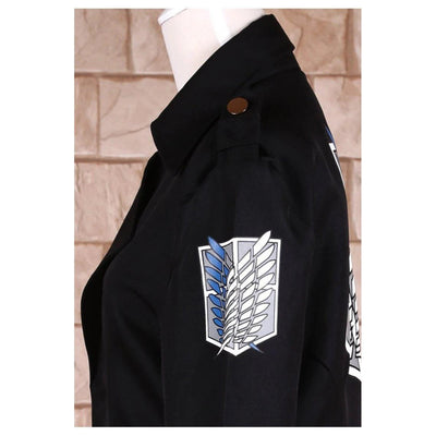 Levi Rivaille Cosplay Cloak Attack on Titan Costume #JU2523-Juku Store