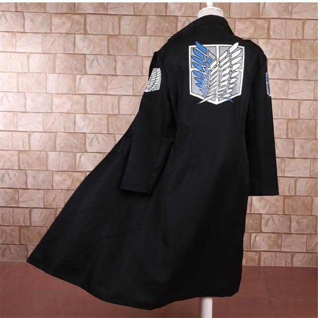 Levi Rivaille Cosplay Cloak Attack on Titan Costume #JU2523-L-Juku Store