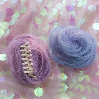 Lolita Pastel Purple and Blue Ombre Wig 65CM #JU2546-Juku Store