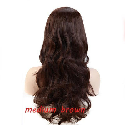 Loose Wavy Synthetic Cosplay Wig 56cm #JU2414-Medium Brown-Juku Store