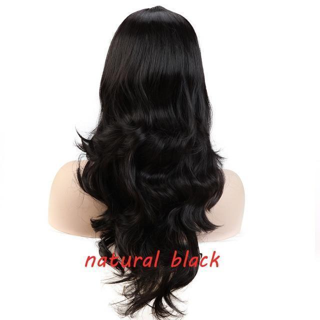 Loose Wavy Synthetic Cosplay Wig 56cm #JU2414-Juku Store