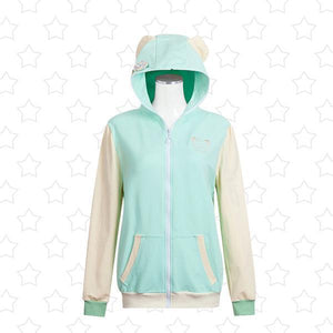 Love Live! Sunshine Cosplay Animal Hoodie Sweater [9 Colors] #JU2134-Cyan-S-Juku Store