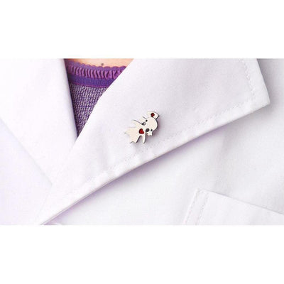 Menhera Yami Kawaii Medical Nurse Jewelry Pin Clip [2 Colors] #JU2025-Juku Store