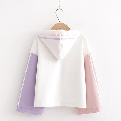 Milk or Juice Pastel Hoodie Kawaii Sweater #JU2642-Juku Store