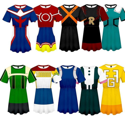My Hero Academia Cosplay Dress Costume Uniform #JU2575-Juku Store