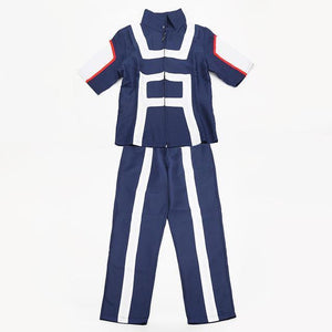 My Hero Academia Cosplay School Sportswear Costume [2 Colors] #JU2125-Blue-S-Juku Store