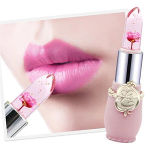 (NEW!) Magic Color Changing Jelly Flower Lipstick [12 Colors] #JU2275-Juku Store