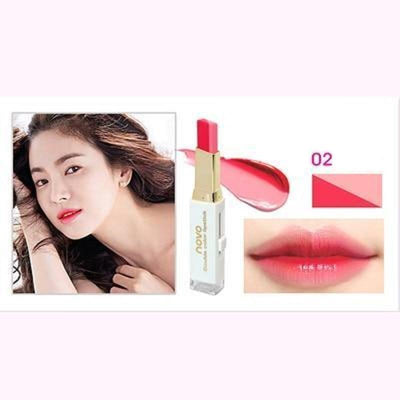 (NEW!) Novo Two Tone Gradient Color Lipstick [8 Colors] #JU2327-2-Juku Store