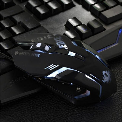 Overwatch D.VA Backlit Optical Gaming Mouse [4 Colors] #JU2181-Black-Juku Store
