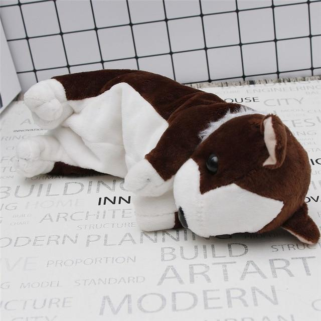 Plush Puppy Dog Pencil Case Kawaii Pencil Bag #JU2443-Juku Store