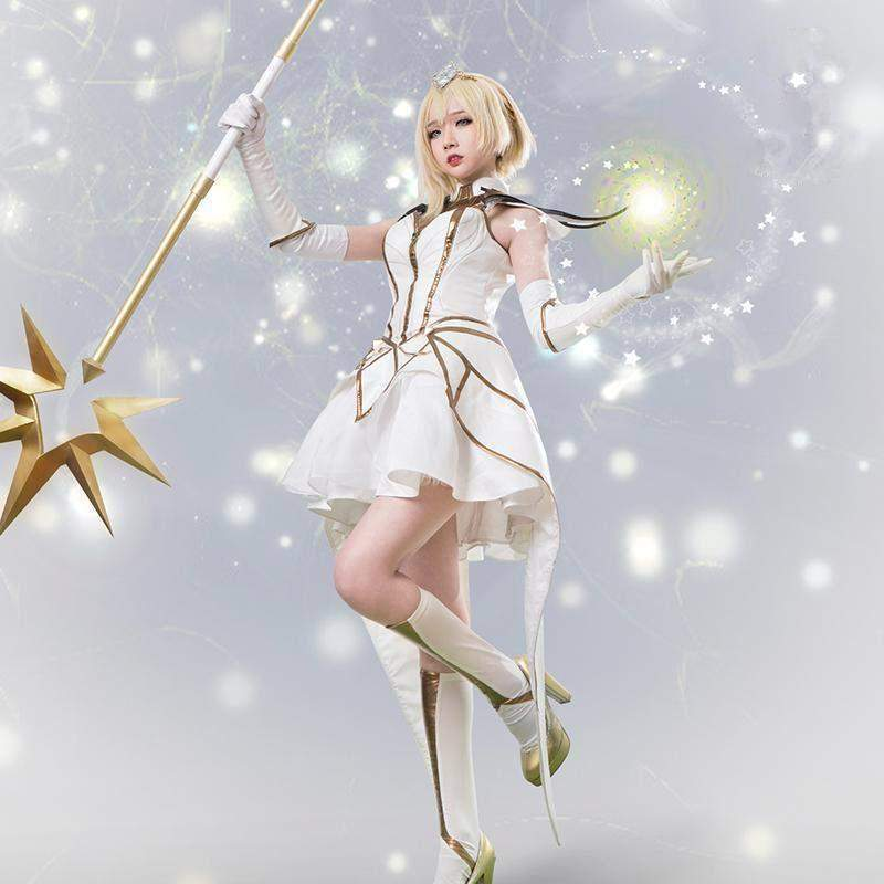 Premium Elementalist Lux Cosplay Set League Of Legends Lol Ju1923