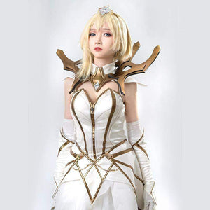 Premium Elementalist Lux Cosplay Set League of Legends (LoL) #JU1923-Juku Store