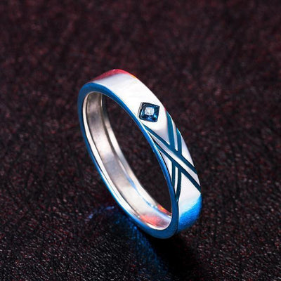 (RARE!) DARLING in the FRANXX Cosplay Couple Ring [2 Colors] #JU2073-Blue-Juku Store