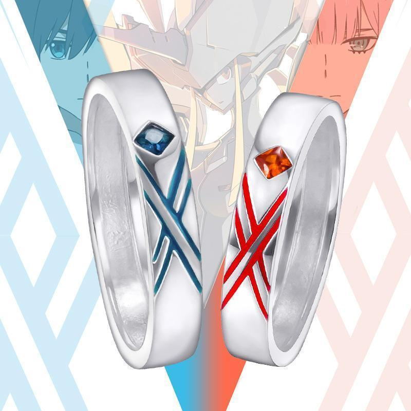 (RARE!) DARLING in the FRANXX Cosplay Couple Ring [2 Colors] #JU2073-Juku Store