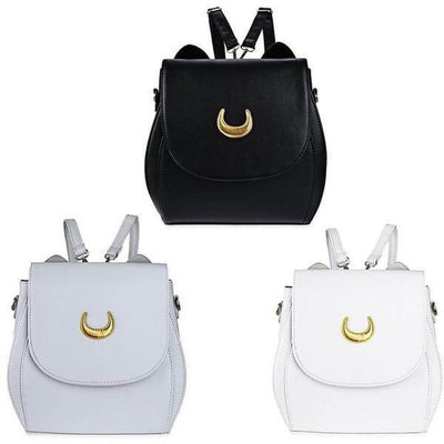 Rare Sailor Moon Double Strap Backpack / Shoulder Bag [3 Colors] #JU1815-Juku Store