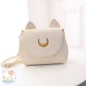 Sailor Moon Purse Luna/Artemis Designer Handbag [2 Colors] #JU1816-Artemis-Juku Store