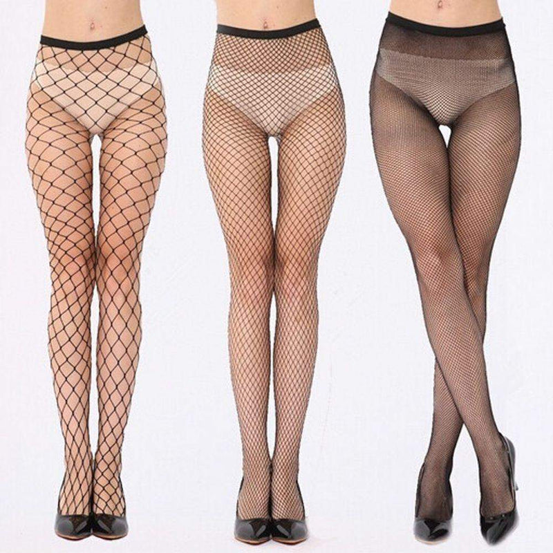 Sexy Fishnet Stockings Mesh Lingerie [3 Styles] #JU1920-Medium Mesh-Juku Store