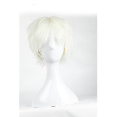 Short Anime Cosplay Wig Heat Resistant [12 Colors] #JU1895-Blonde-Juku Store