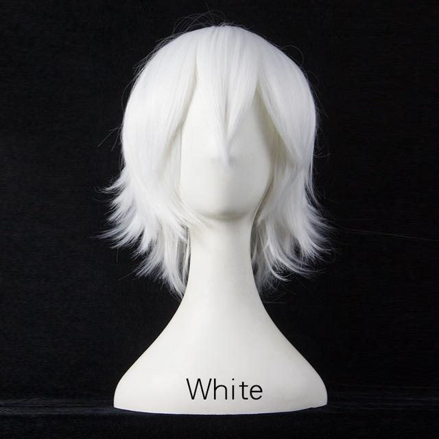 Short Fly Away Hair Wig Cosplay 30cm [17 Colors] #JU2116-Juku Store