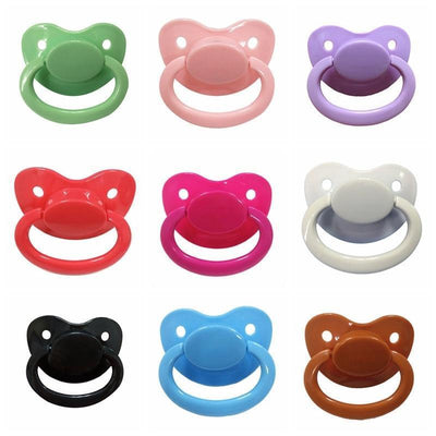 Silicone Adult Pacifier [8 Colors] #JU2368-Juku Store