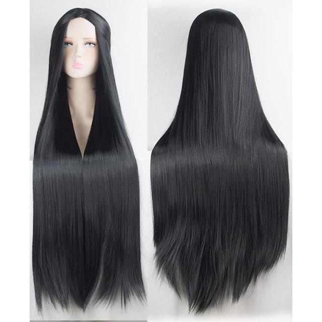 Silky Long Straight Cosplay Wig Hair 100cm [20 Colors] #JU2115-Juku Store