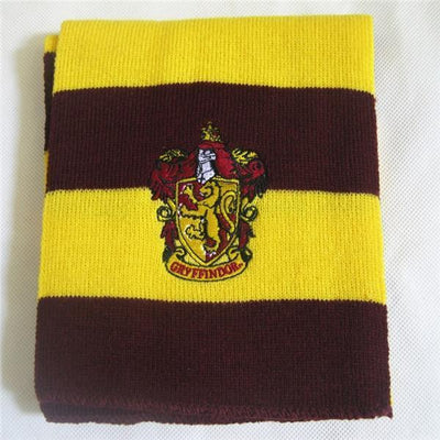 Soft Warm Harry Potter Scarf Cosplay Accessory [4 Styles] #JU2142-Gryffindor-Juku Store