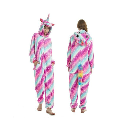 Unicorn Onesie Cosplay [11 Colors] #JU1833-Big Galaxy Unicorn-S-Juku Store