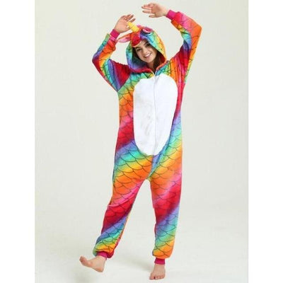 Unicorn Onesie Cosplay [11 Colors] #JU1833-Fish Scale Unicorn 2-S-Juku Store