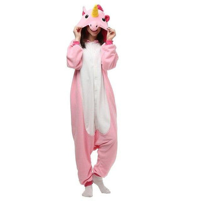 Unicorn Onesie Cosplay [11 Colors] #JU1833-Pink Unicorn Tenma-S-Juku Store