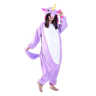 Unicorn Onesie Cosplay [11 Colors] #JU1833-Purple Unicorn Tenma-S-Juku Store